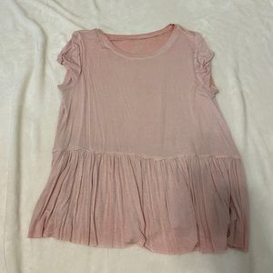 Mossimo Supply Co. Pink Top